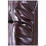 Диван Richman Визит Единица + Двойка 870 x 2500 x 850H см Титан Dark Brown Коричневый, фото 4