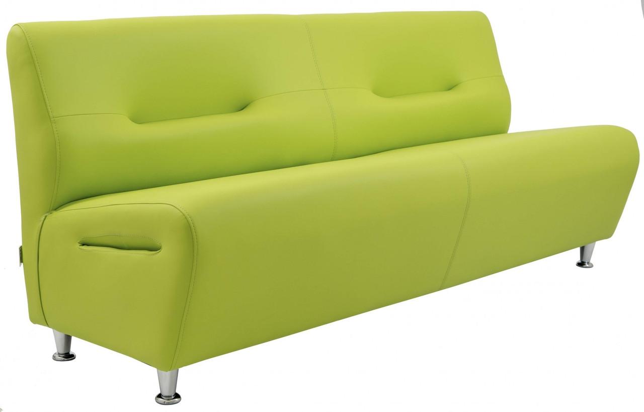 Диван Richman Смарт Двойка 630 x 1200 x 800H см Artex Stanford Apple Green Зеленый