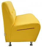 Диван Richman Смарт Двойка 630 x 1200 x 800H см Флай 2240 Желтый, фото 4