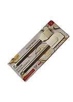 Кондитерский силиконовый набор Ernesto 29х5см/26х4см Белый