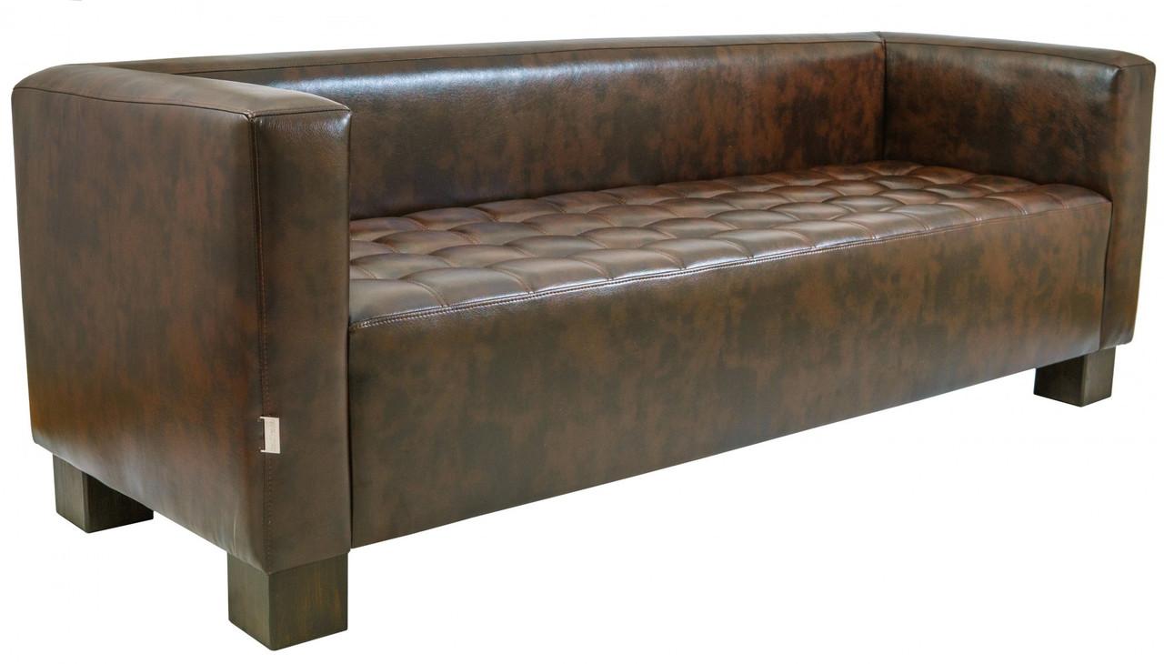Диван Richman Спейс Двойка 760 x 1500 x 730H см Титан Dark Brown Коричневый