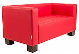 Диван Richman Спейс Двойка 760 x 1500 x 730H см Флай 2210 Красный, фото 2