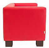 Диван Richman Спейс Двойка 760 x 1500 x 730H см Флай 2210 Красный, фото 3