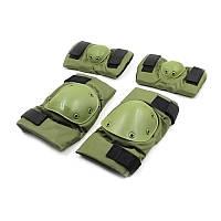 Защита тактическая наколенники, налокотники BC-4267 (ABS, полиэстер 600D, цвета в ассортименте)