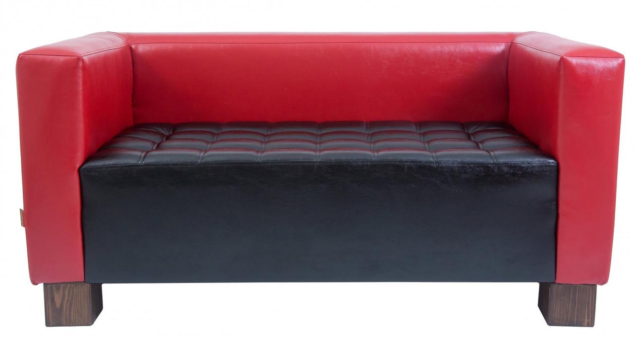 Диван Richman Спейс Тройка 760 x 2100 x 730H см Boom 16/24 Красный + Черный