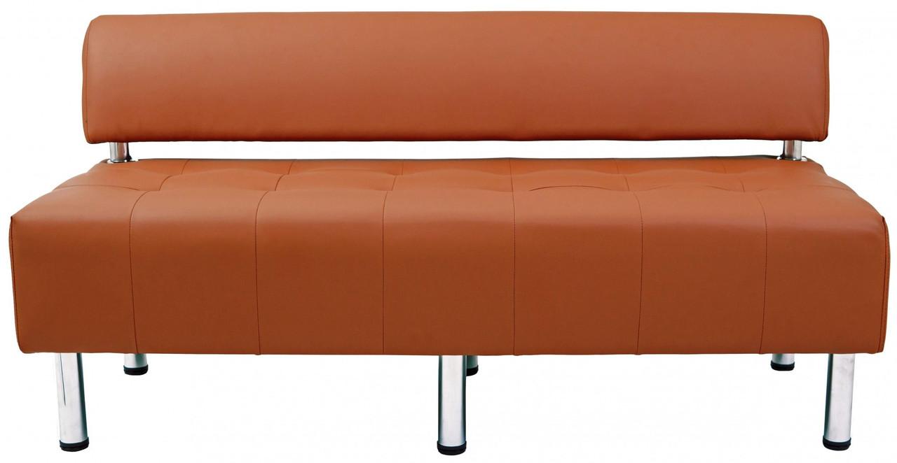 Диван Richman Офис Двойка 1550 x 680 x 750H см Со спинкой Флай 2212 Коричневый