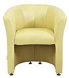 Кресло Richman Бум Единица 650 x 650 x 800H см Титан Vanilla Бежевое, фото 2