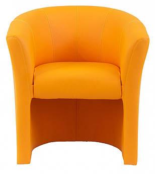 Кресло Boom Единица 650 x 650 x 800H см Zeus Deluxe Orange Оранжевое