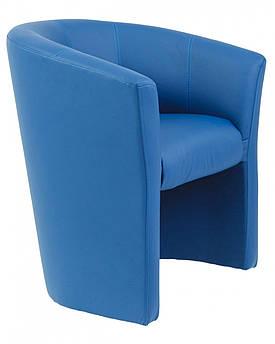Кресло Boom Единица 650 x 650 x 800H см Zeus Deluxe Blue Синее