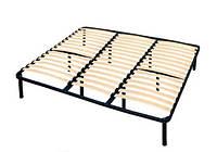 Каркас кровати трехрядный усиленный (10 ножек)