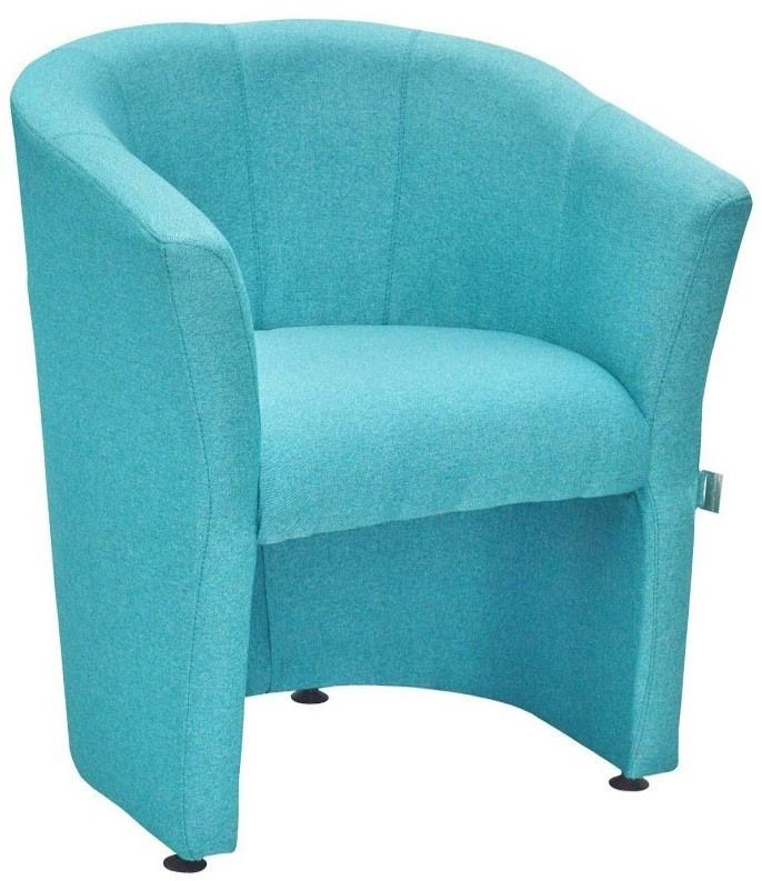 Кресло Richman Бум Единица 650 x 650 x 800H см СМТ Аляска 86 Голубое