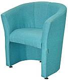 Кресло Richman Бум Единица 650 x 650 x 800H см СМТ Аляска 86 Голубое, фото 2