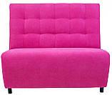 Диван Richman Симпл 600 x 1200 x 1090H см Пера Pink 54 Розовый, фото 2