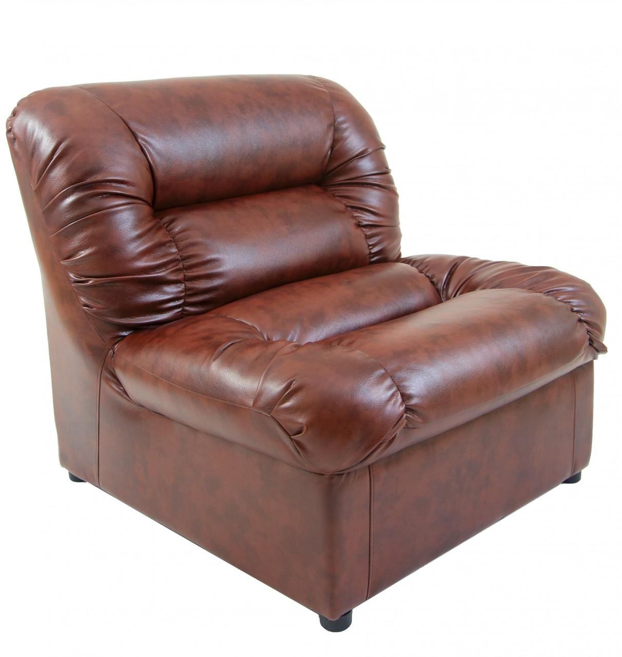 Кресло Richman Визит 870 x 850 x 850H см Мадрас Tobacco Коричневое