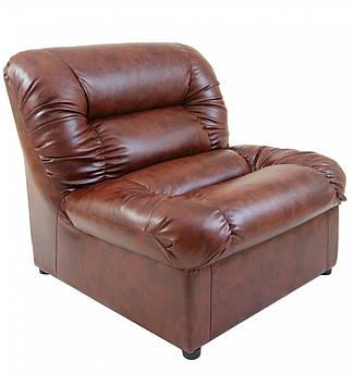 Кресло Visit 870 x 850 x 850H см Мадрас Tobacco Коричневое