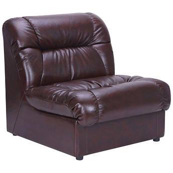 Кресло Visit 870 x 850 x 850H см Титан Dark Brown Коричневое