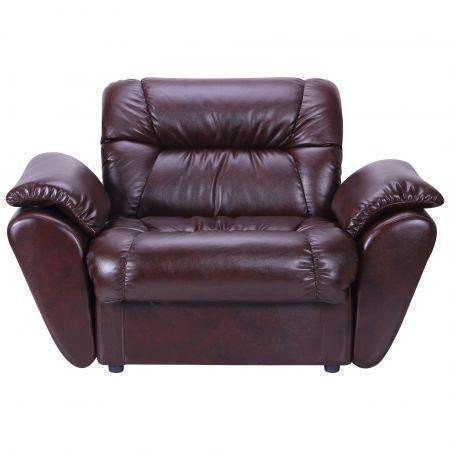 Кресло Richman Визит С подлокотниками Титан Dark Brown Коричневое