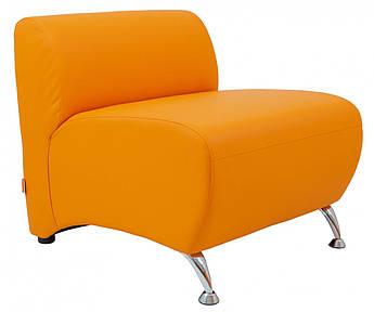 Кресло Florida 780 x 700 x 680H см Zeus 045 Оранжевое