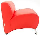 Кресло Richman Флорида 780 x 700 x 680H см Boom 16 (Флай 2210) Красное, фото 3