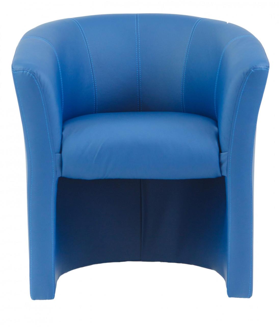 Кресло Richman Бум 650 x 650 x 800H см Zeus Deluxe Blue Синее