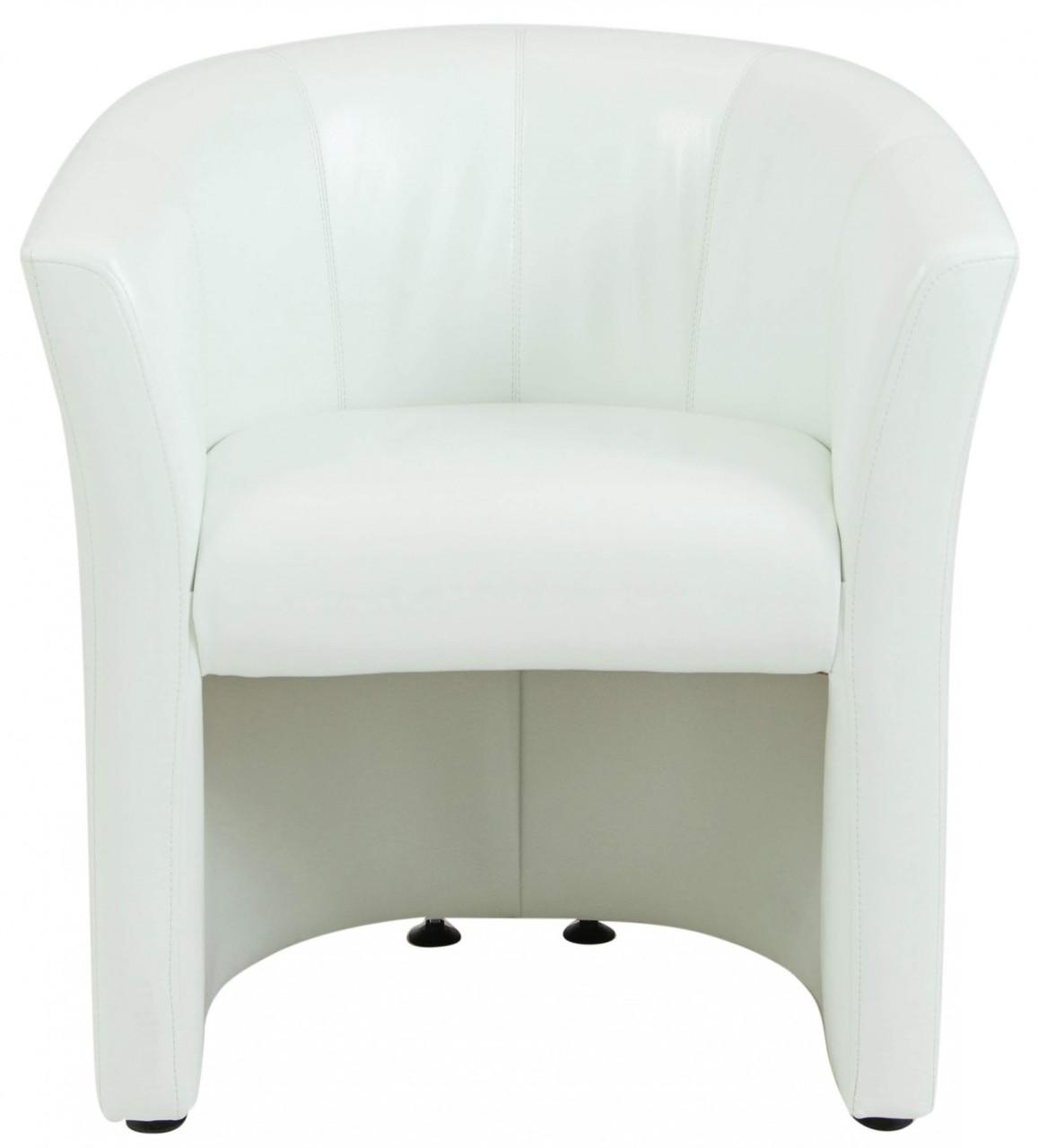 Кресло Richman Бум 650 x 650 x 800H см Zeus Deluxe Snow/2200 Белое