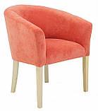 Кресло Richman Версаль 65 x 65 x 75H Кордрой 204 Оранжевое, фото 2