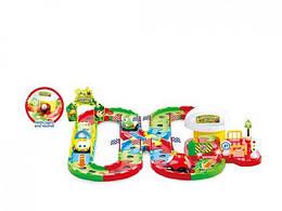 Детский трек.Игрушечный автготрек для детей с машинками. 4085