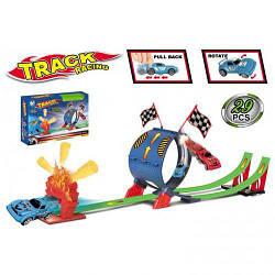 Автотрек игрушка для мальчика.Детский автотрек с машинками 011-10