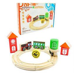 Детский игрушечный поезд.Игрушки для малышей.Игрушки из дерева