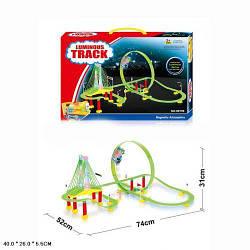 Автотрек игрушка.Трек детский с звуком поезда