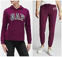 Женский спортивный костюм GAP кофта и штаны (Фиолетовый, размер M )