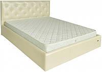 Кровать Richman Бристоль VIP 120 х 190 см Мадрас Перламутр 3 White С1 С дополнительной металлической цельносварной рамой С1 Белая
