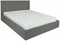 Кровать Richman Бристоль VIP 120 х 200 см Aston 16 С дополнительной металлической цельносварной рамой Серая