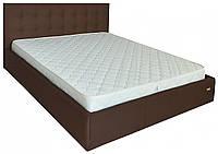 Кровать Richman Бристоль VIP 120 х 200 см Etna-027 С дополнительной металлической цельносварной рамой Коричневая
