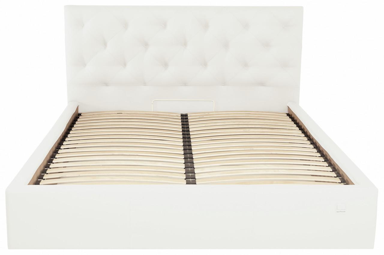 Кровать Richman Бристоль VIP 140 х 190 см Флай 2200 С дополнительной металлической цельносварной рамой Белая