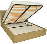 Кровать Richman Бристоль VIP 140 х 190 см Fibril 17 С дополнительной металлической цельносварной рамой, фото 4