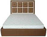 Кровать Richman Виндзор VIP 140 х 190 см Флай 2213/2207 С дополнительной металлической цельносварной рамой, фото 2
