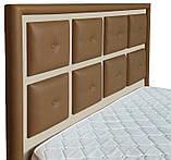 Кровать Richman Виндзор VIP 140 х 190 см Флай 2213/2207 С дополнительной металлической цельносварной рамой, фото 3