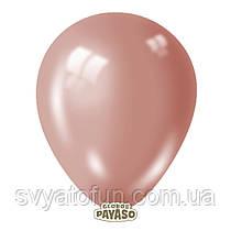 """Латексные шарики 5"""" перламутр Rose Gold 478 (розовое золото) 100 шт/уп Мексика"""