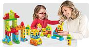 Мега Блокс Конструктор 120 деталей Mega Bloks Build and Learn Math Building Set, фото 6
