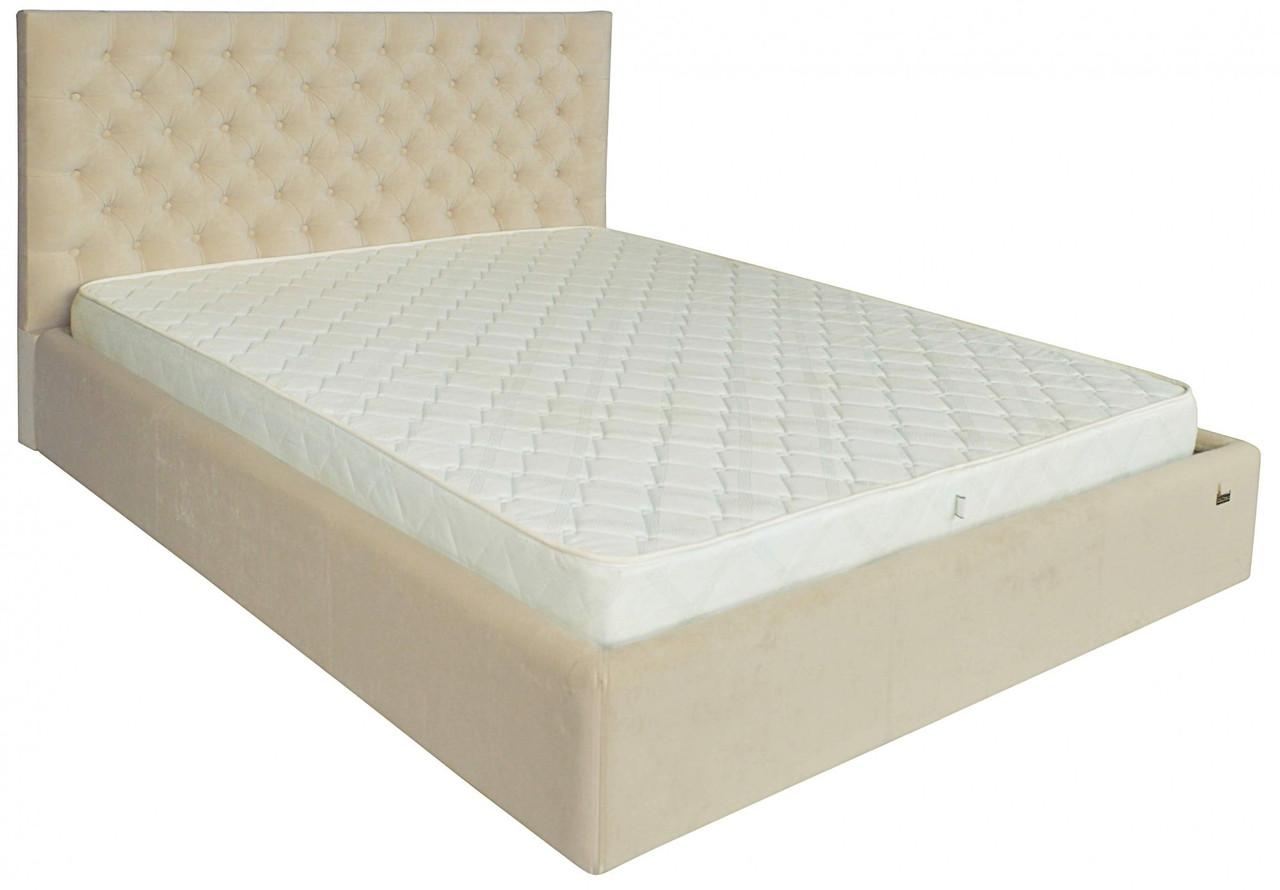 Ліжко Richman Кембридж VIP 120 х 200 см Кордрой 231 З додатковою металевою рамою суцільнозварний