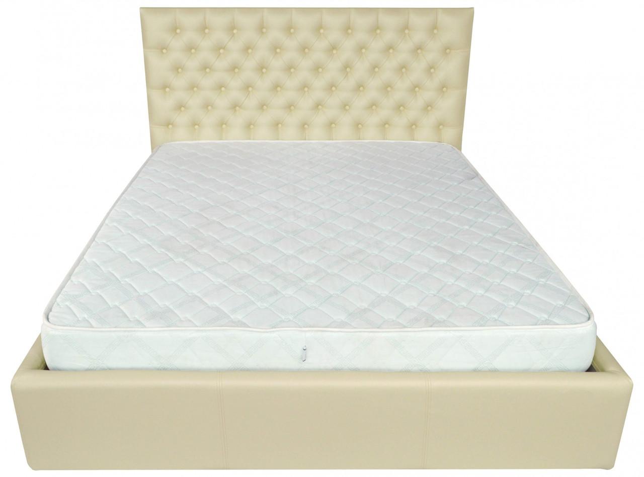 Кровать Richman Кембридж VIP 140 х 190 см Флай 2207 A1 С дополнительной металлической цельносварной рамой