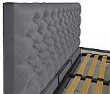 Кровать Richman Кембридж VIP 140 х 200 см Fibril 16 С1 С дополнительной металлической цельносварной рамой, фото 3