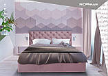 Кровать Richman Ковентри VIP 140 х 200 см Missoni 016 С дополнительной металлической цельносварной рамой, фото 7