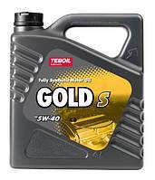 Синтетическое моторное масло TEBOIL GOLD 5W40 ✔ емкость 4л.