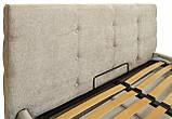 Кровать Richman Манчестер VIP 140 х 200 см Мисти Milk A1 С дополнительной металлической цельносварной рамой, фото 3