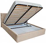 Кровать Richman Манчестер VIP 140 х 200 см Мисти Milk A1 С дополнительной металлической цельносварной рамой, фото 4
