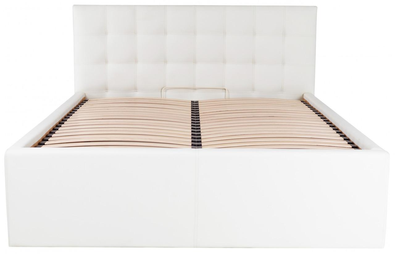 Кровать Richman Честер VIP с высокими царгами 120 х 200 см Флай 2200 С дополнительной металлической цельносварной рамой Белая