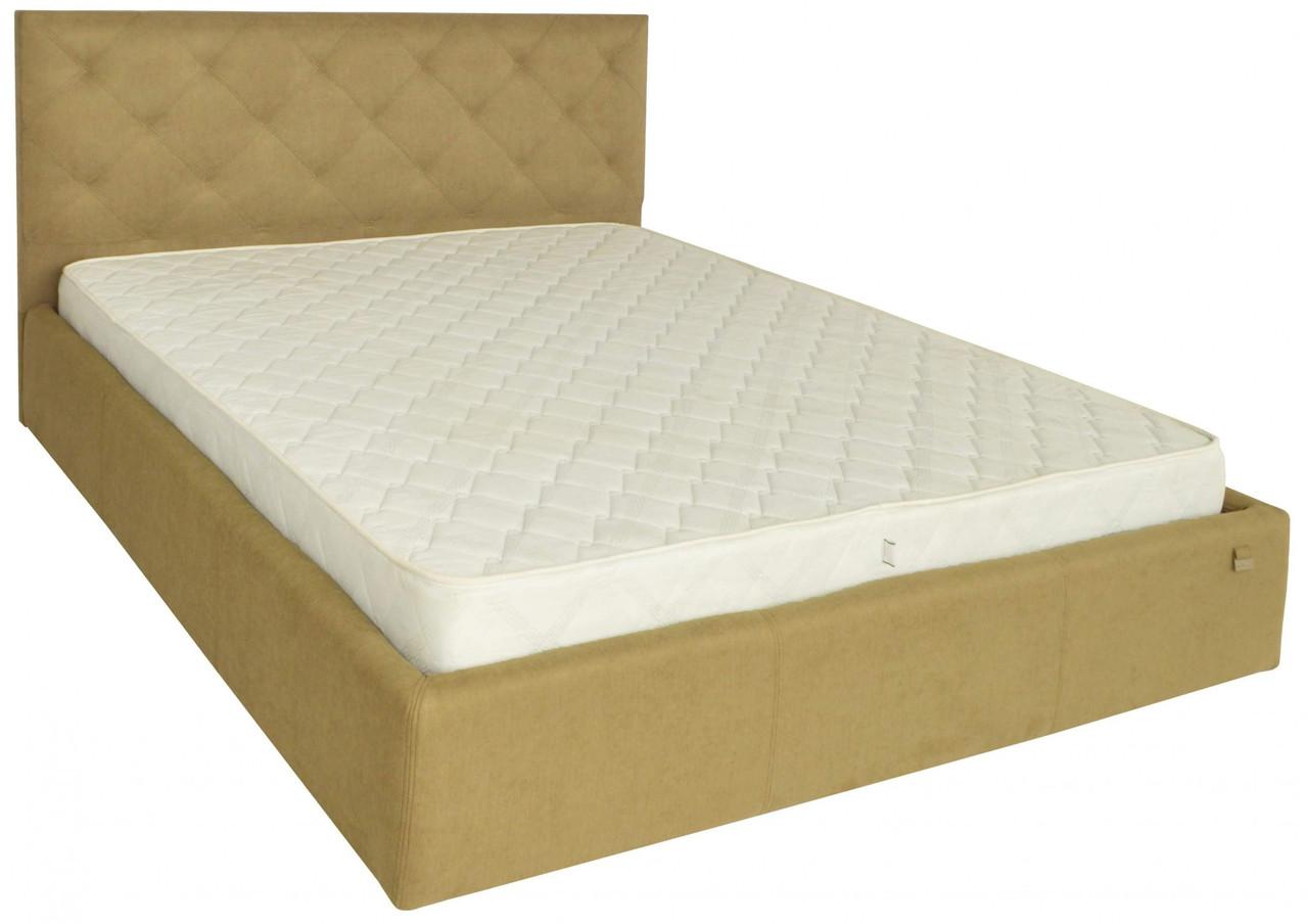 Кровать Двуспальная Bristol VIP 160 х 190 см Fibril 17 С дополнительной металлической цельносварной рамой