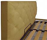 Кровать Двуспальная Bristol VIP 160 х 190 см Fibril 17 С дополнительной металлической цельносварной рамой, фото 3